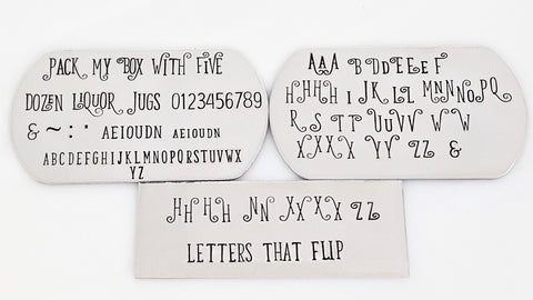 Devious - 3.5mm Full Set Uppercase Letters Base