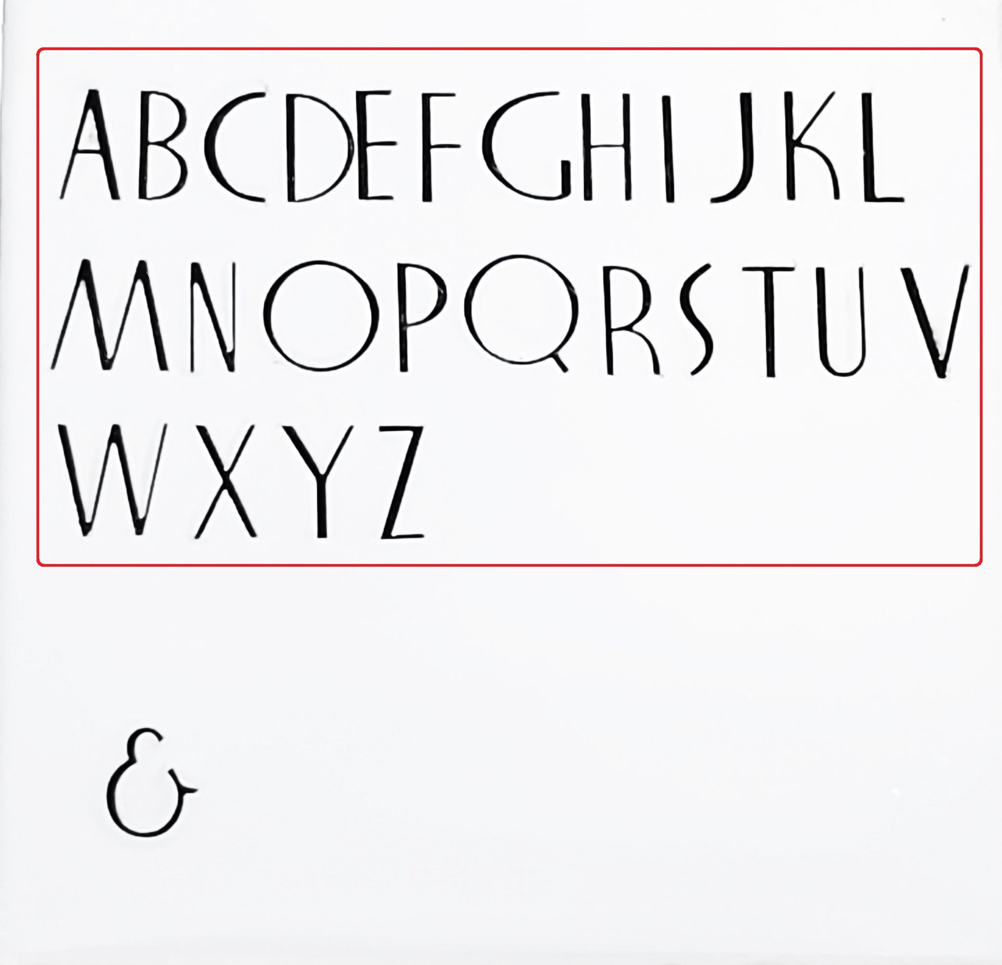 Nocturne Book - 3.5mm Uppercase