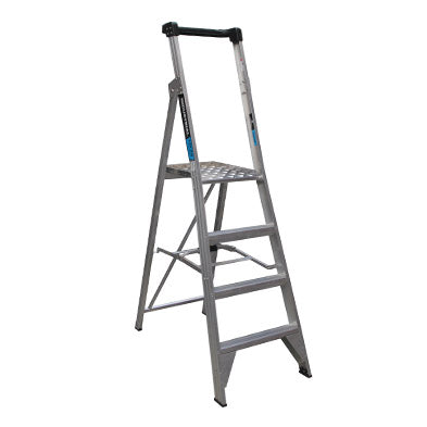 Platform Ladder 4 step 1.13m 150kg Trade Series