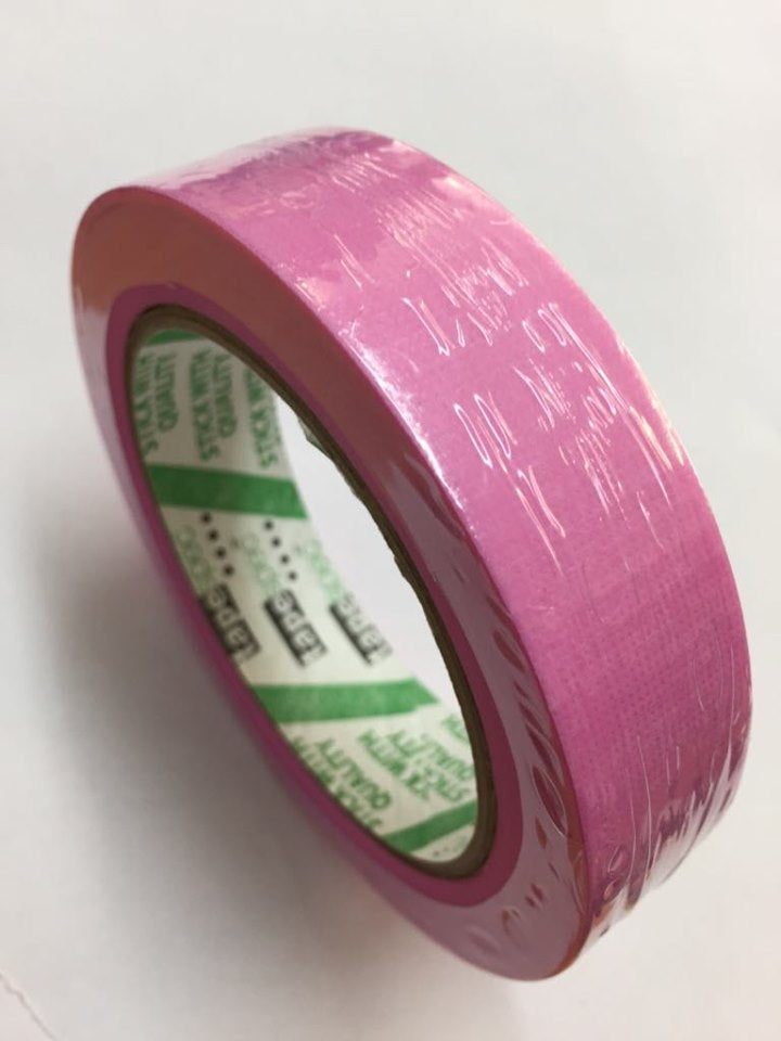 Pink Acrylic Exterior Tape 24mm - Tapespec