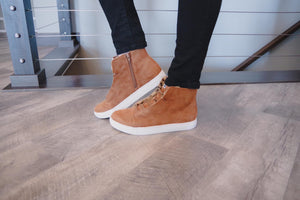 Lottie Saddle Sneaker