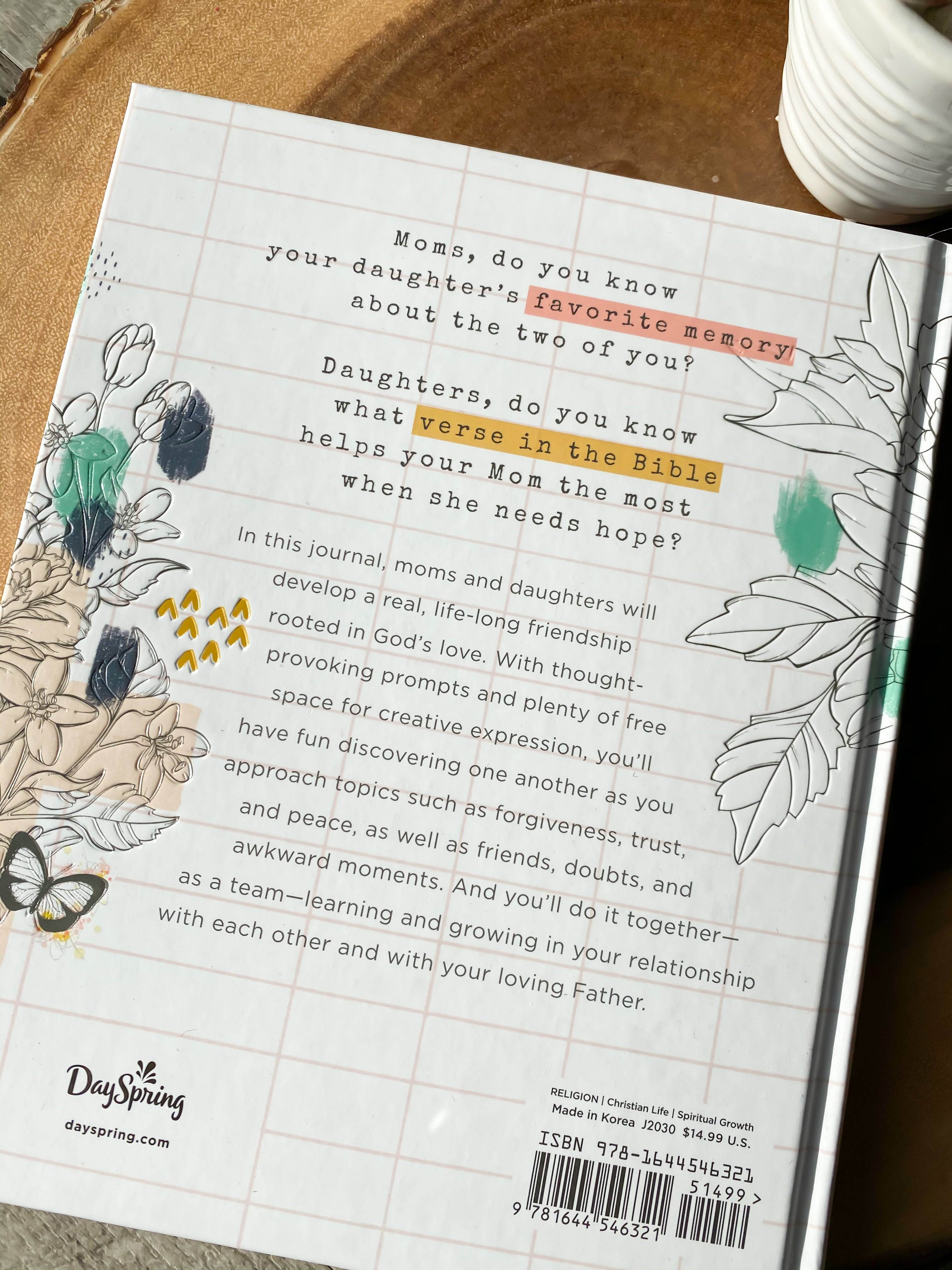 Sealed with Love - Mother and Daughter Journal