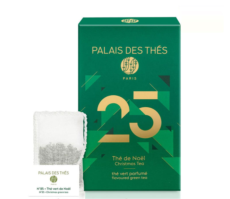 N25 Holiday Blend Green Tea Palais Des Thes
