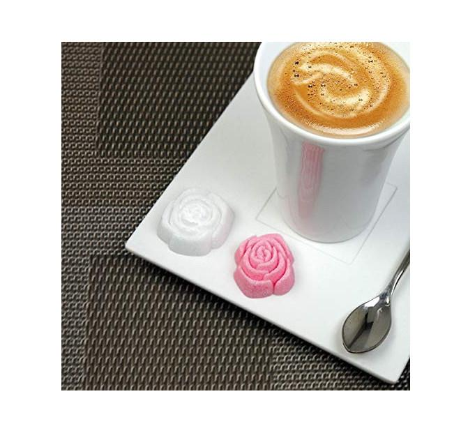 L' Envie en Rose - 36 Assorted French Molded Rose Sugar Pieces