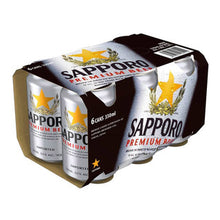 Load image into Gallery viewer, Sapporo Can Case 24 x 330ml/ 500ml