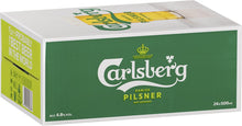 Load image into Gallery viewer, Carlsberg Pilsner Can Case 24 x 320ml/490ml