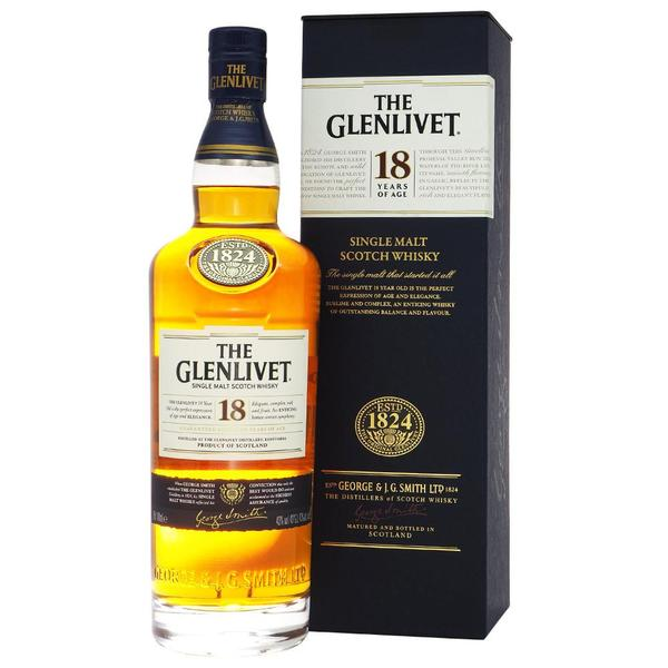 The Glenlivet 18 years 700ml