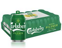Carlsberg Pilsner Can Case 24 x 320ml/490ml