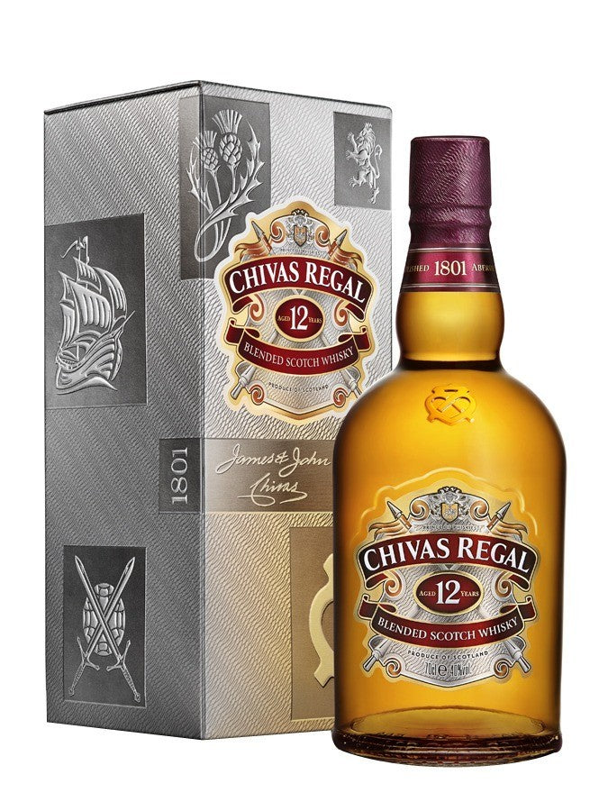Chivas Regal 12 years 700ml/ 2Ltr