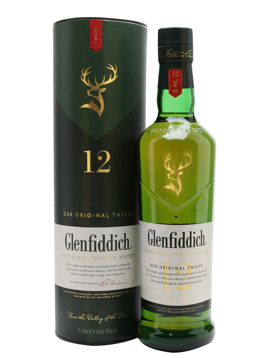 Glenfiddich 12 Years 700ml