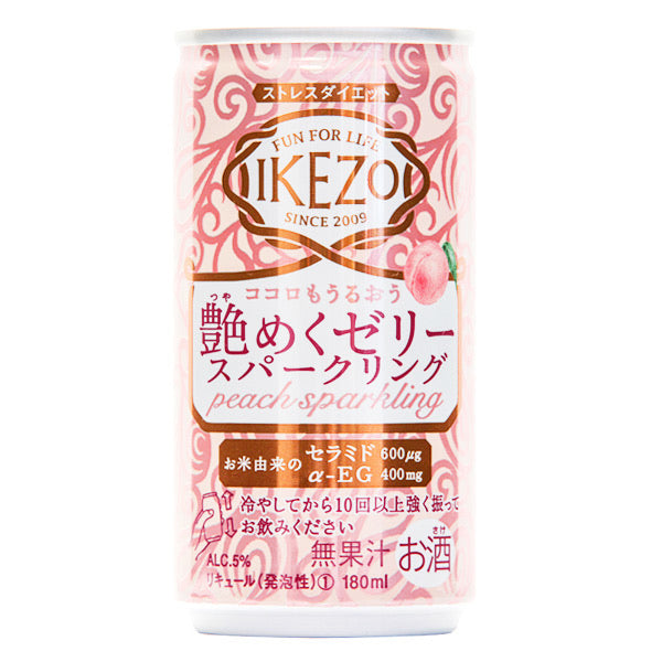 Ozeki Peach Jelly Sparkling Sake Bundle 6's x 180ml