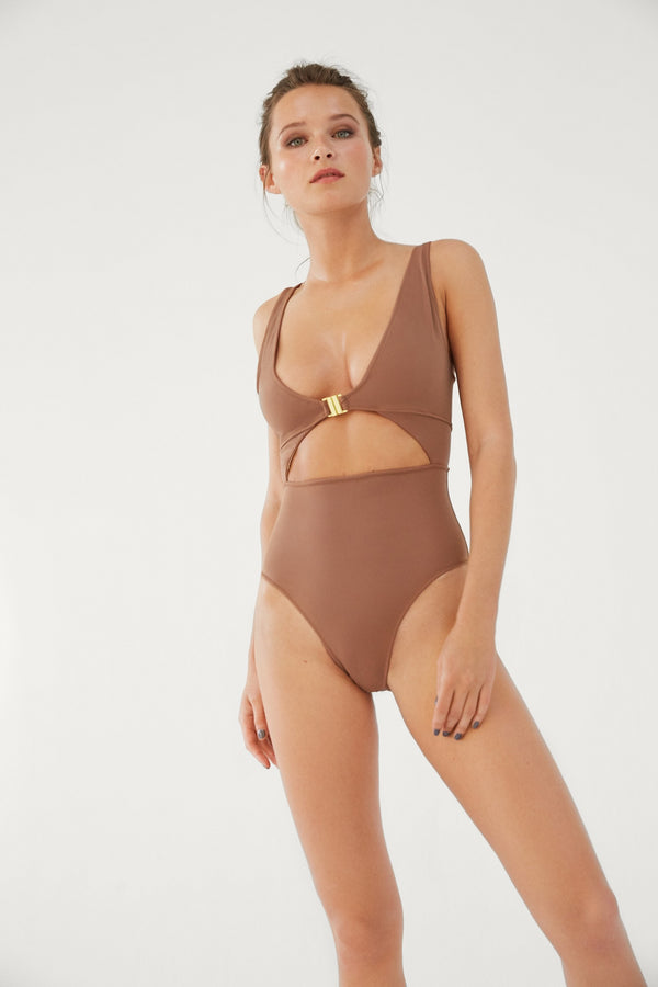Mimosa toffee swimsuit