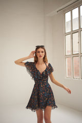 María silk dress