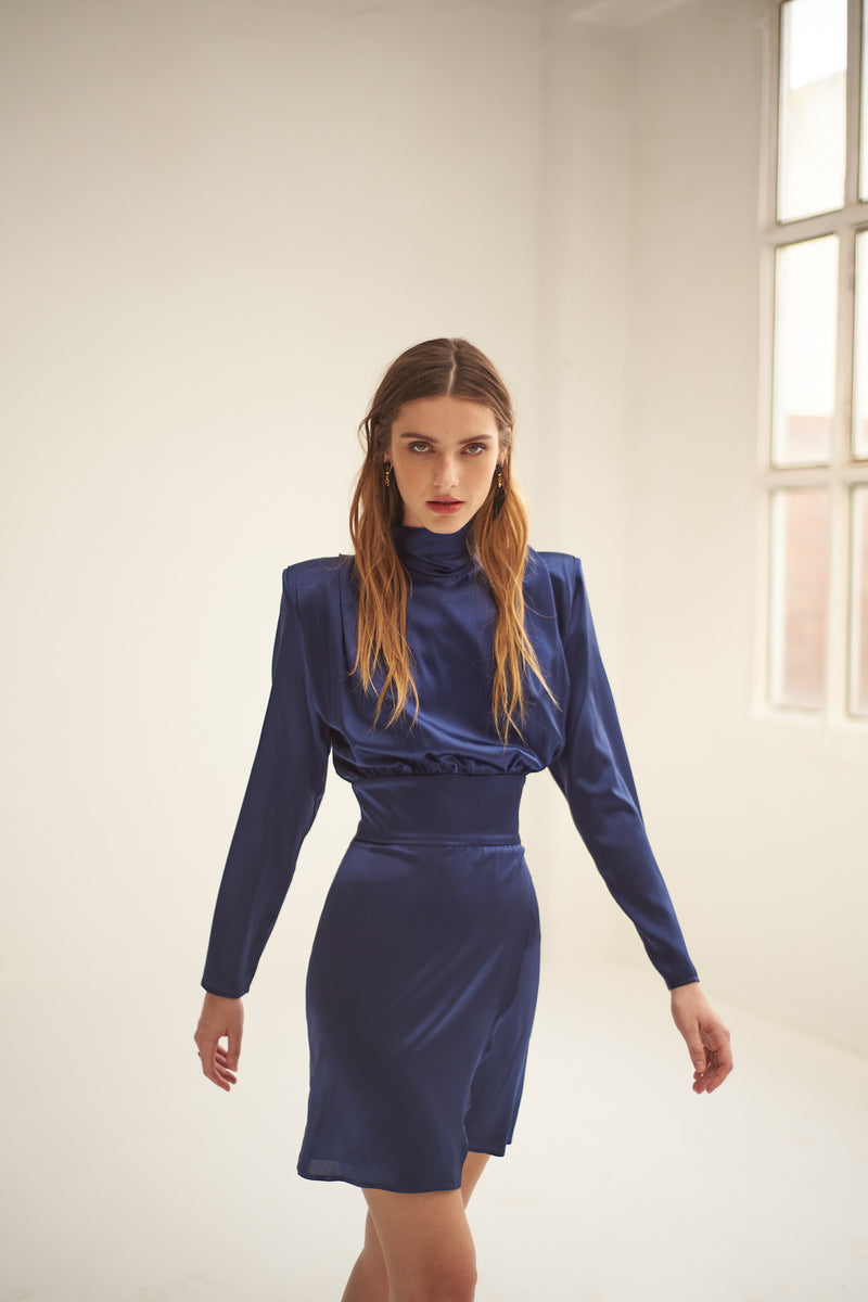 Freya blue dress
