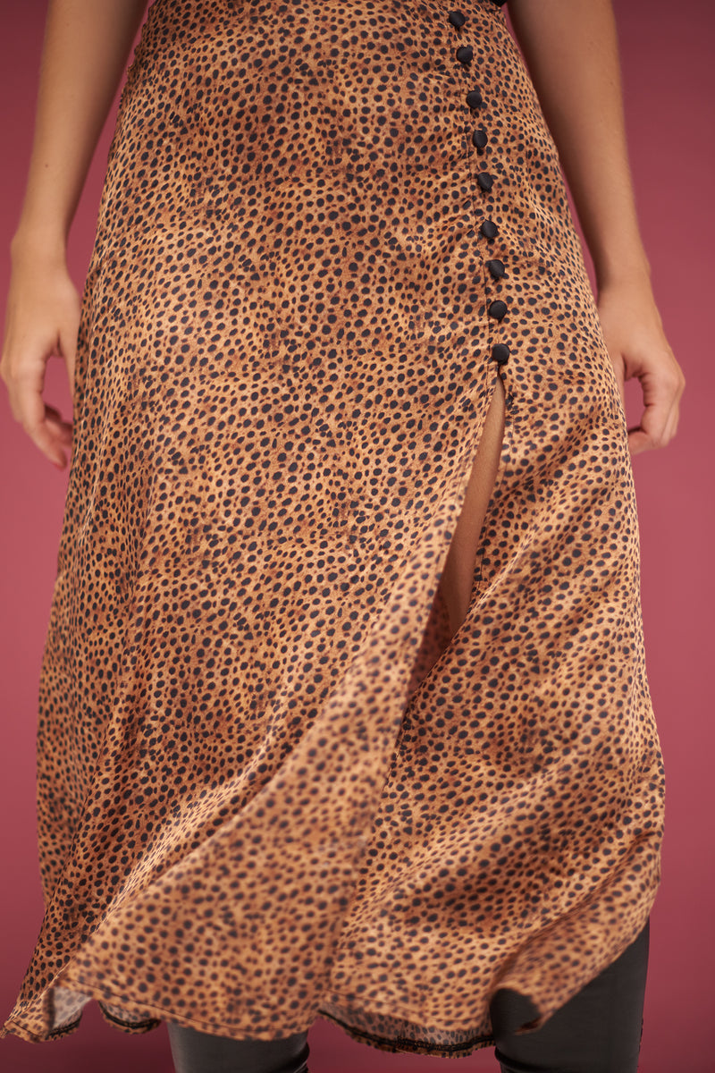Penelope animal print Skirt