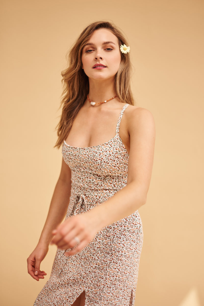 Paloma floral dress