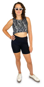 She's Electric Crop Top - Style Adix