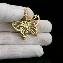 Load image into Gallery viewer, 18K Gold Plated Butterfly Pendant - Style Adix