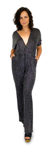 Glitz and Glam Jumpsuit With Cleavage - Style Adix
