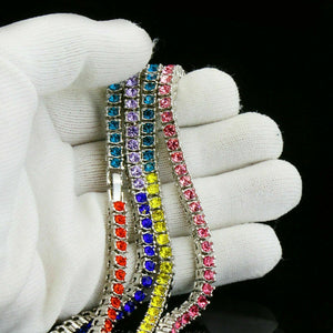 Rainbow Sparkle Necklace - Style Adix