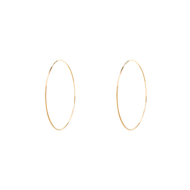 ENDLESS HOOP EARRINGS - Style Adix