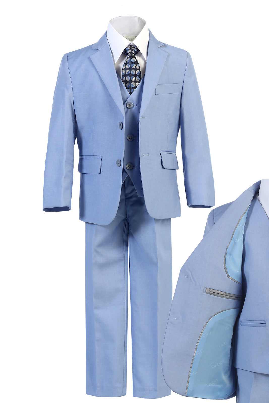 Unotux Sky Blue Boys Suits