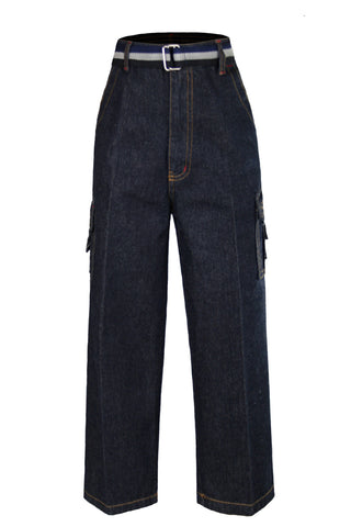 Unotux Boys Cotton Jeans 6 pockets with a matching casual belt Size 2 - 14