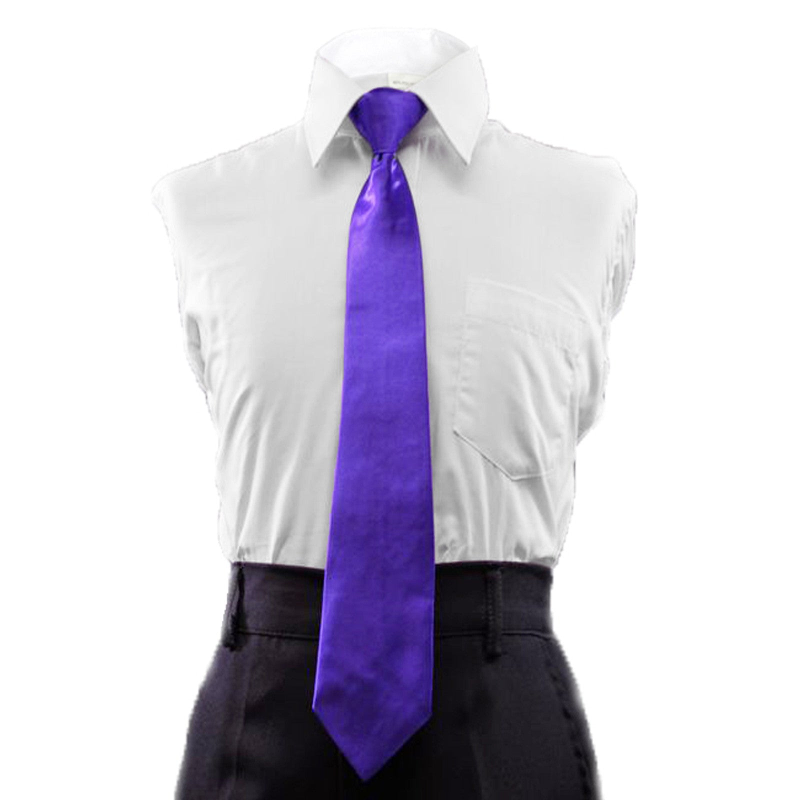 4T Unotux 6pc Boys Suit with Satin Purple Necktie from Baby to Teen