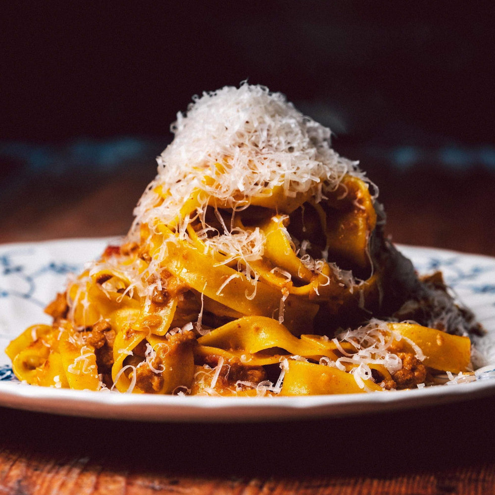Load image into Gallery viewer, Fettuccine with Spicy Nduja and Pork Ragu