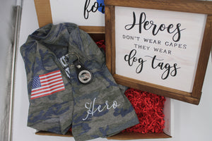 American Pride $50 Gift Box - MILITARY / VETERAN