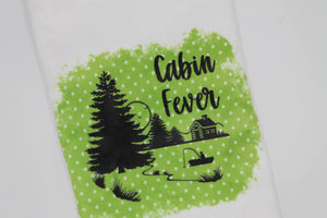 Cabin Fever Hand Towel