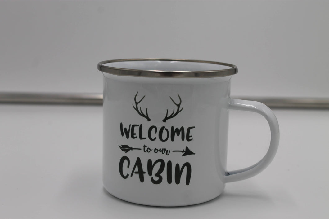Welcome to Our Cabin Mug