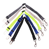 Upgraded Adjustable Dog Seat Belt Dog Car Seatbelt Harness Leads Elastic Reflective Safety Rope Pet Dog Cat Supplies