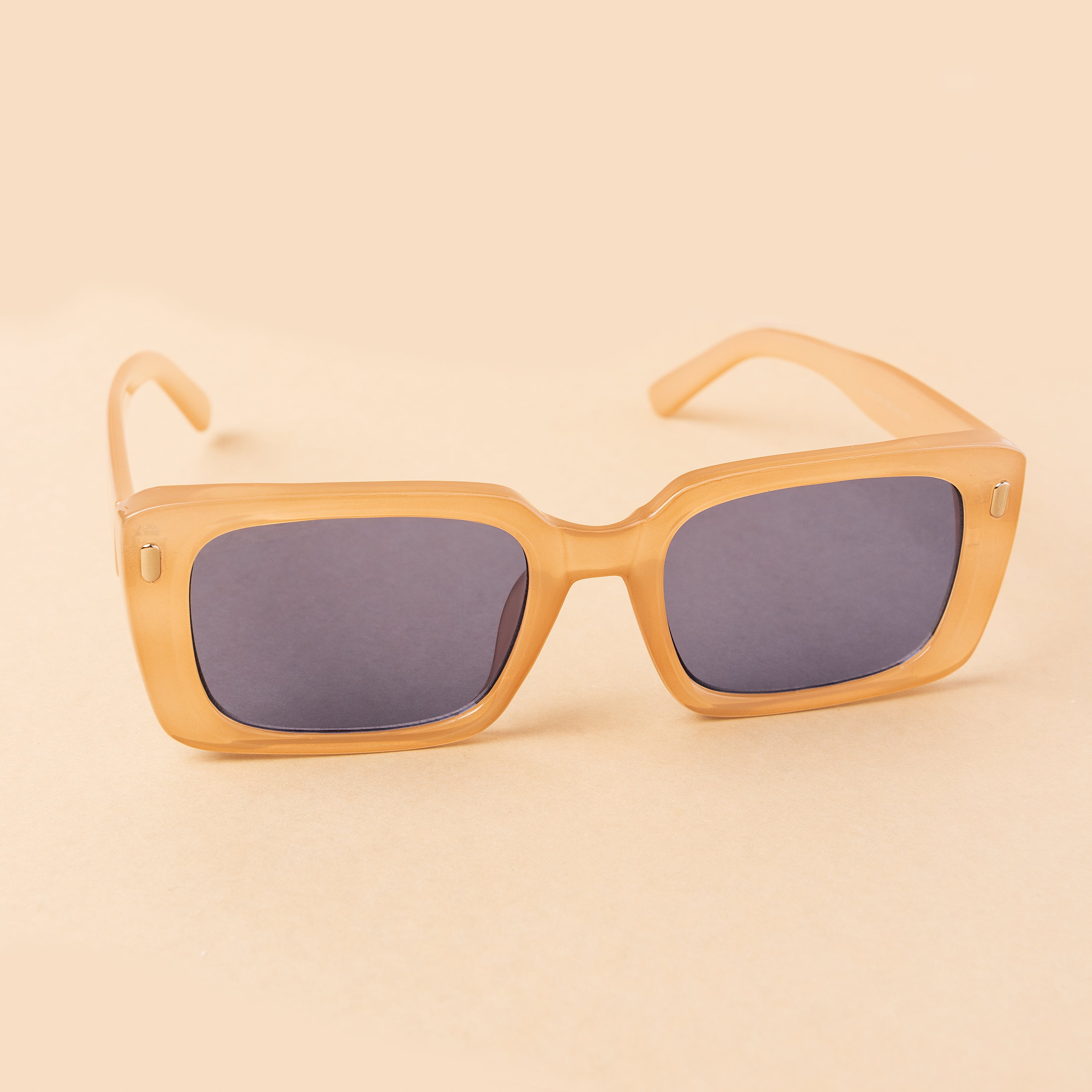 Girl Next Door Sunglasses - Beige