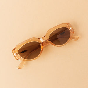 Parisian Chic Sunglasses - Peach