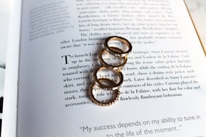 Golden Girl Ring Set
