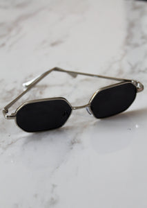 Golden Hour Sunglasses - Silver