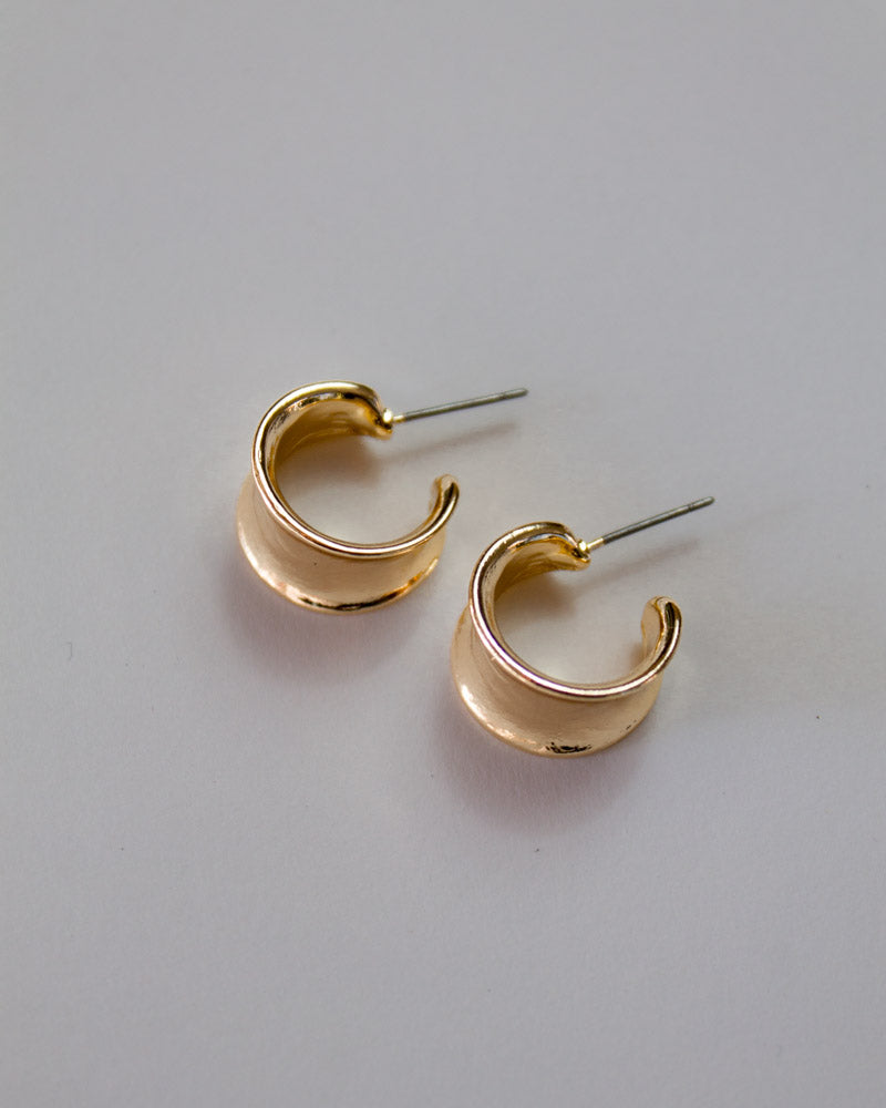 Golden Cuff Earrings
