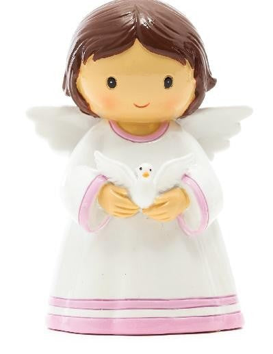 HOLY SPIRIT ANGEL PINK - BRUNETTE