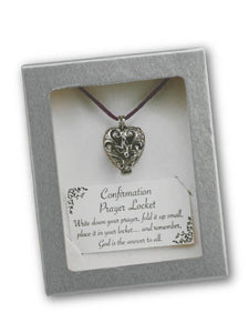 CONFIRMATION PRAYER LOCKET
