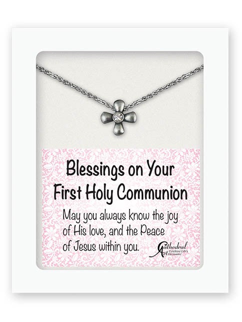 COMMUNION CROSS PENDANT