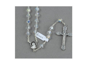 CRYSTAL ROSARY BEADS (ALPACCA)