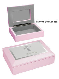 MEMORIES BOX - CHRISTENING PINK SIZE: 180 X 130 X 40mm