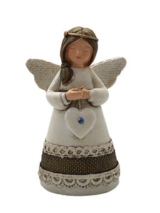 LITTLE BLESSING ANGEL - TURQUOISE