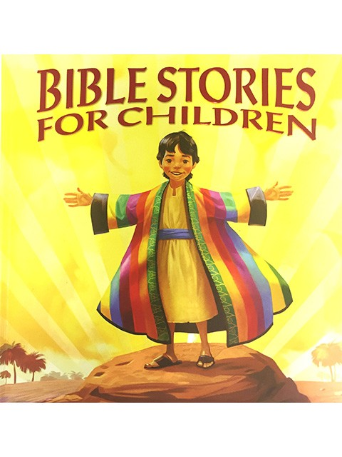 BIBLE STORIES FOR CHILDREN PADDED COVER - 320 PG - AGE 8+
