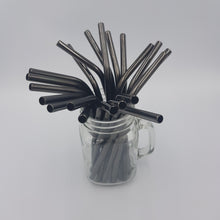 Load image into Gallery viewer, Metal Straws -Black