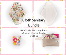 Load image into Gallery viewer, Cloth Sanitary Bundle