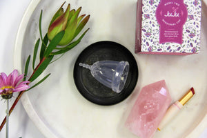 JuJu Menstrual Cup- Model 2 Clear