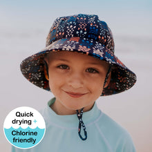 Load image into Gallery viewer, Kids Beach Bucket Hat 'Turtle' Print