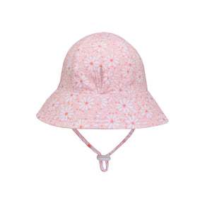 Ponytail Bucket Hat 'Daisy' Print